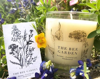 Essential Oil Beeswax candle- Midnights Dream