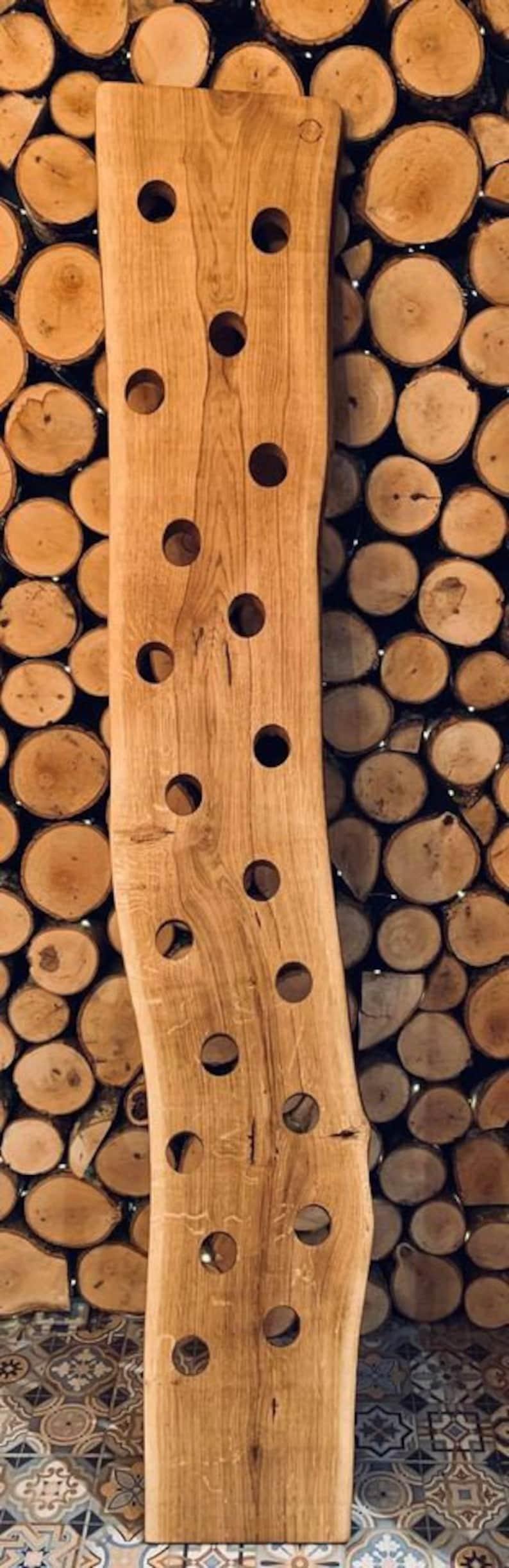 Bespoke Oak Wine Rack Holder