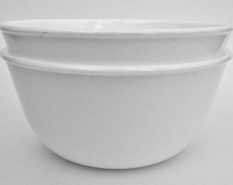 Pasta Bowl Ready to Ship White Medium Soup Cereal Bowl Gift Wrapped Dinner Serving Bowl Noodle Bowl Handmade