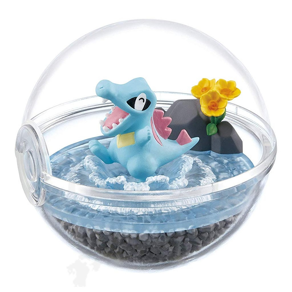 Pokemon Terrarium Collection 5 Suicune From Japan Re Ment Sale Animation Art Characters Collectibles