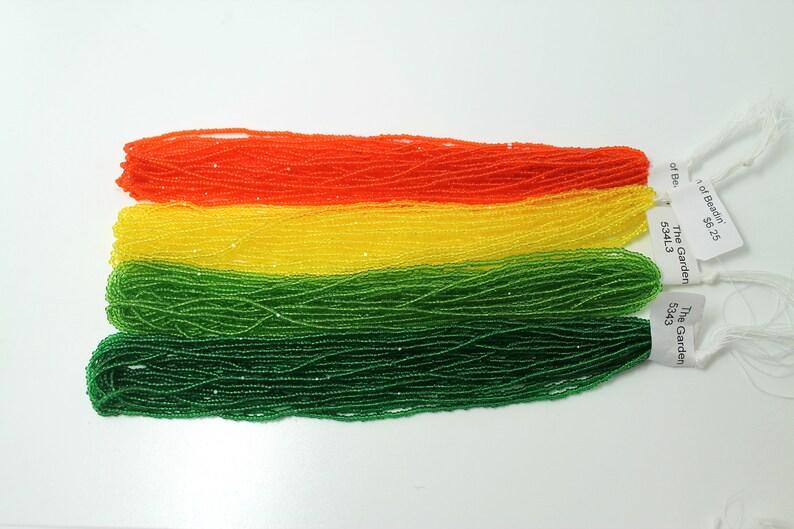 16 Hanks 130 Charlotte Cuts 20/% Off Transparent Rainbow Colors