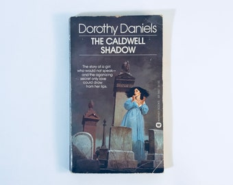 the Caldwell Shadow / Dorothy Daniels / Vintage Gothic romance Paperback
