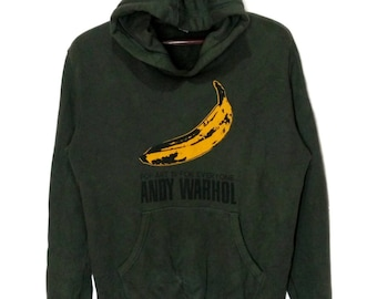 dbb667d59a8 Vintage Andy warhol big logo hoodie sweatshirt Size  US L   EU 52-54   3