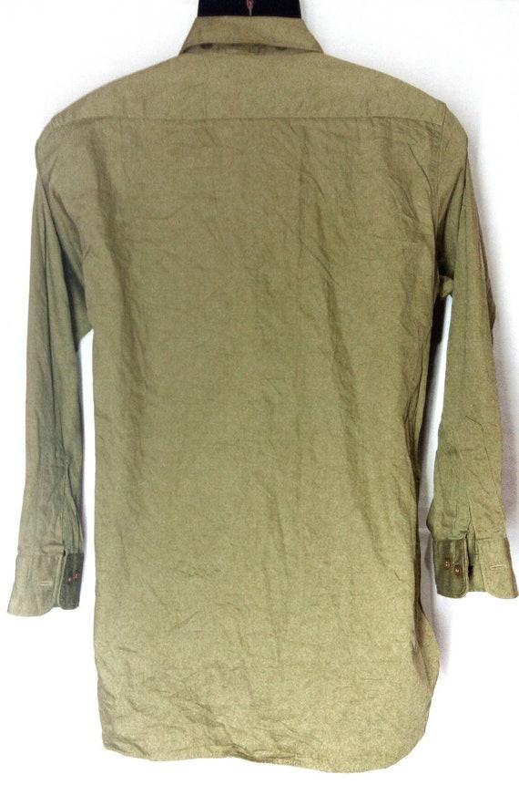 Vintage Rare!!! WWII khaki tan US military office… - image 4