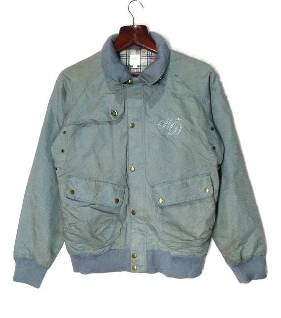 Vintage AD Adidas Trefoils Workwear Jacket