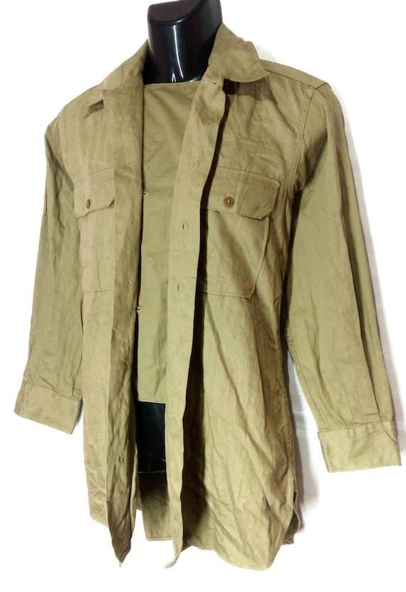Vintage Rare!!! WWII khaki tan US military office… - image 2