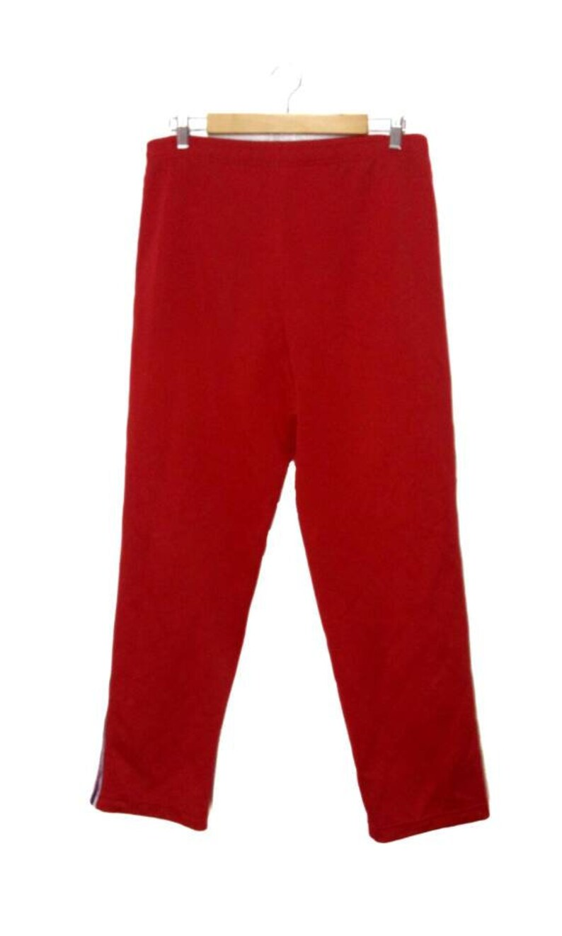 Rare Champion embroidered logo pant red velvet color size w34
