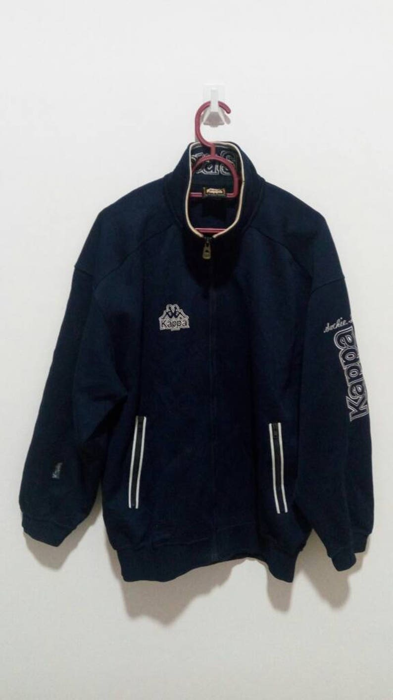 NICE!!!! KAPPA sweater kappa sport polo sport adidas puma nike dark blue