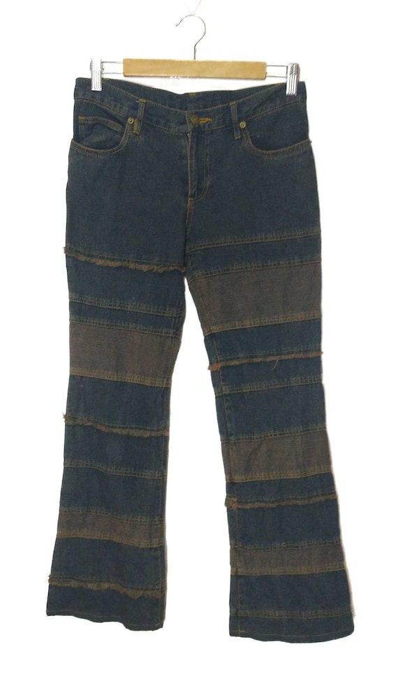 Hysteric Glamour design Kinky Jeans Patchwork Stri