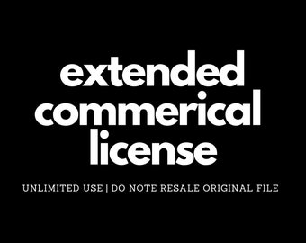 Commercial Use License (Unlimited Commercial Use)