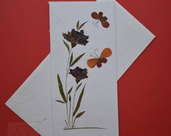 Handmade Flower Greeting Card - (Item Code : PK-LG-N12)