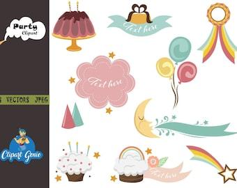 Feiern Sie Eine Party Mit Luftballons Download Kostenlos Vector