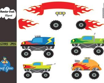 Monster Truck Clipart Sport Racer Race Racing Car Sports Trophy Field
