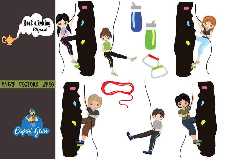 1722eb43b95 Girls rock climbing rock climbing clip art sport health