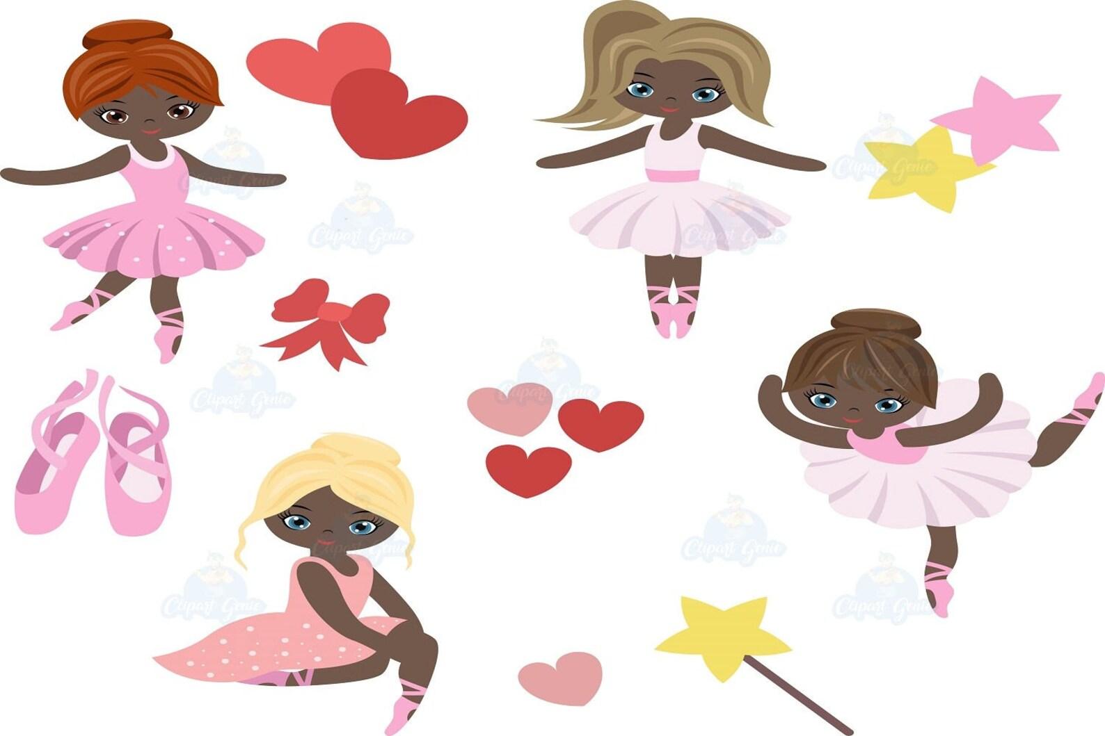 ballerina clipart, ballet clipart, ballerina, girl dancing clipart, ballerinas clipart, ballerina clip art, ballet class, baller