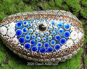 Hand Painted Meditation Rock