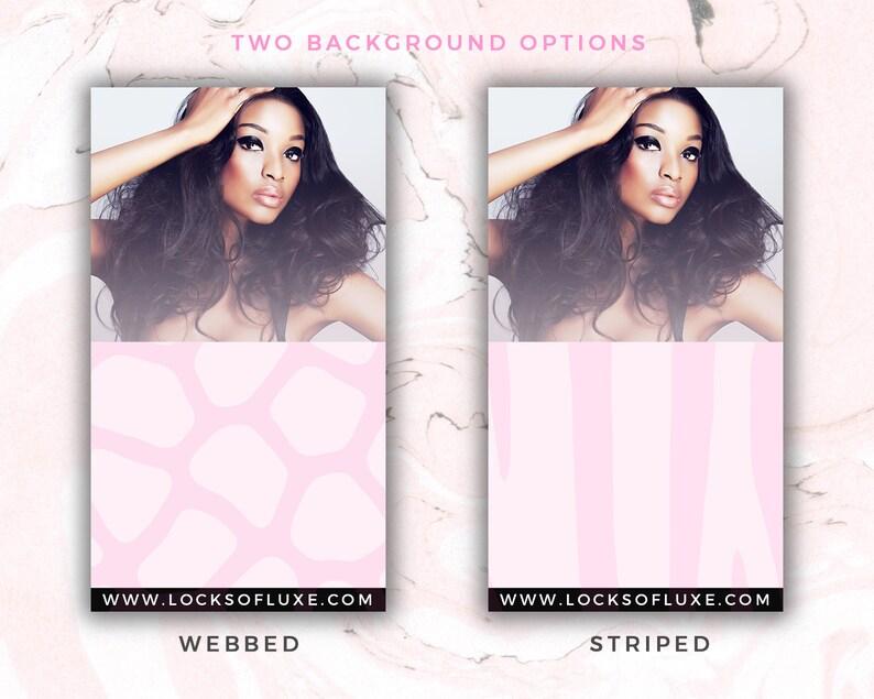 Hair Bundle Instagram Stories Templates Social Media Flyers Hair Extensions Branding INSTANT DOWNLOAD Hair Bundle Design Bundle Deals