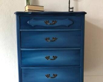 Ocean Blue Dresser