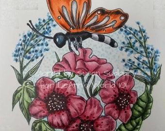 Spring Bouquet - Digital Stamp