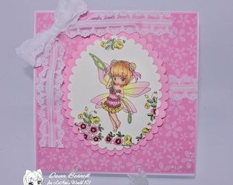 Flora - Digital Stamp