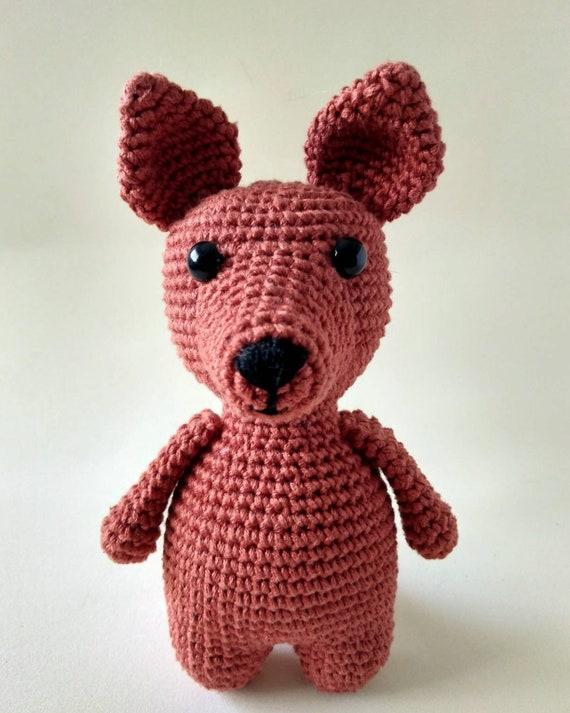 Perro Tlalchichi Xoloitzcuintle PATRÓN crochet en español | Etsy