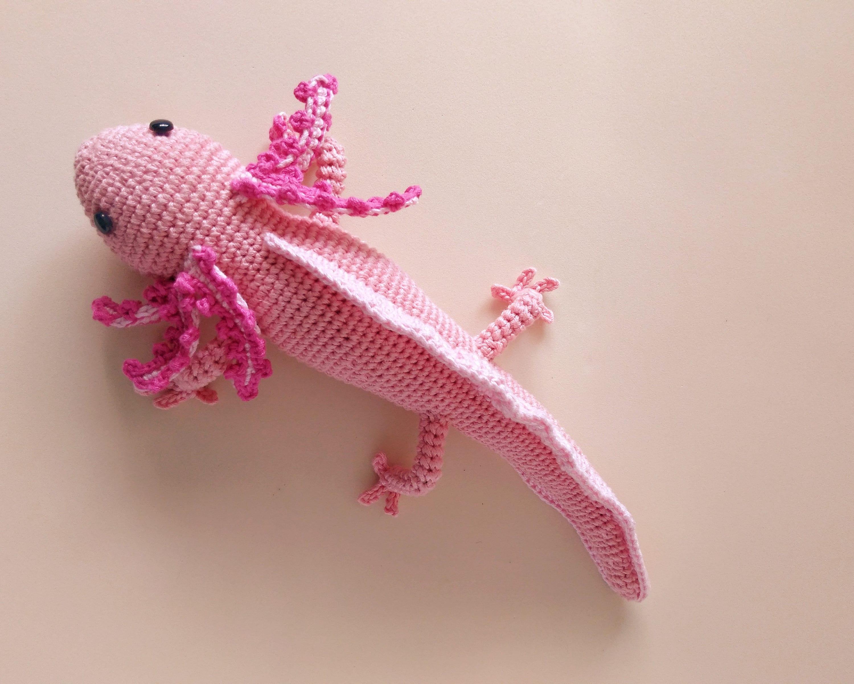 Axolotl patrón de CROCHET amigurumi AXOLOTL | Etsy