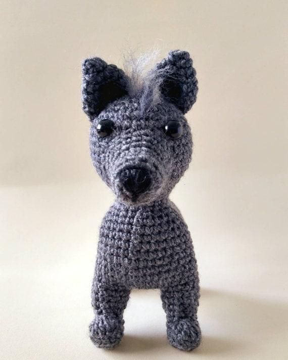 Perro Xoloitzcuintle patrón crochet español | Etsy