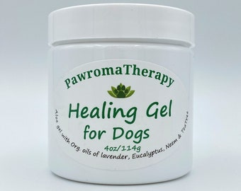 Healing Gel for Dogs, Dog Skin Allergies, Itchy Dog Wound Gel