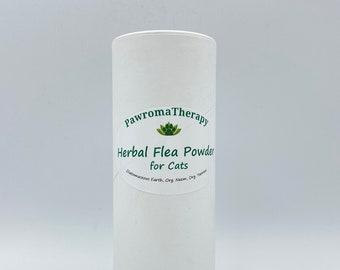 Natural Cat Herbal Flea Control Powder, natural flea prevention, Cat Flea Powder