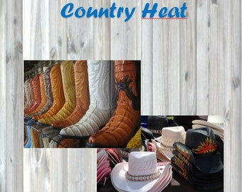 Country Heat Daily Planner