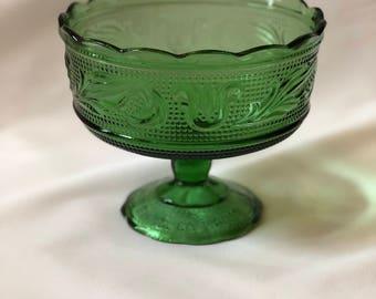 Vintage E.O. Brody Glass dish