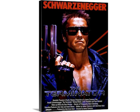 THE TERMINATOR CANVAS PRINT PICTURE WALL ART FREE UK DELIVERY VARIETY OF SIZES
