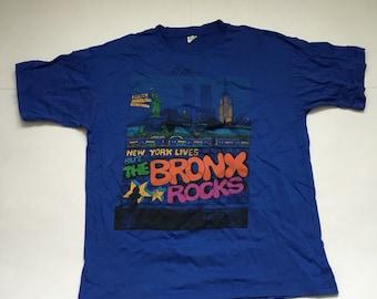 Vintage Bronx Rocks T-shirt
