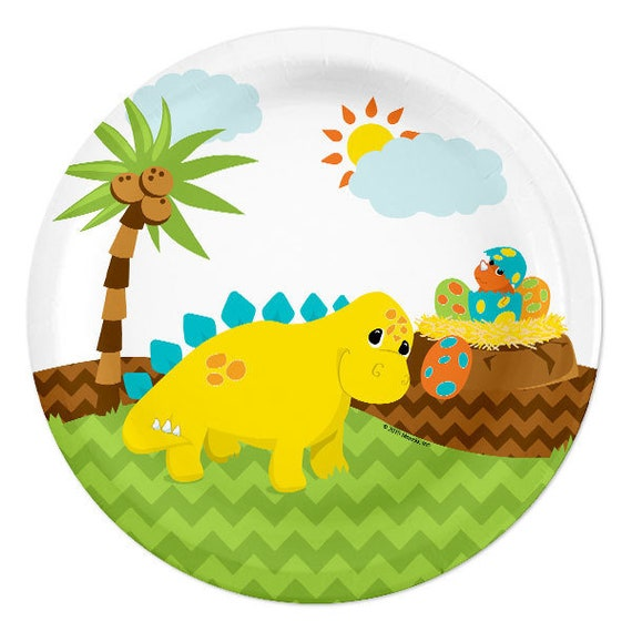 8 ~ Birthday Party Supplies Cake NOAH/'S ARK 1ST BIRTHDAY SMALL PAPER PLATES