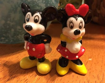 Disney Mickey And Minnie Mouse Bone China Made In Taiwan