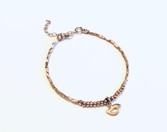 14k Rose Gold Vermeil
