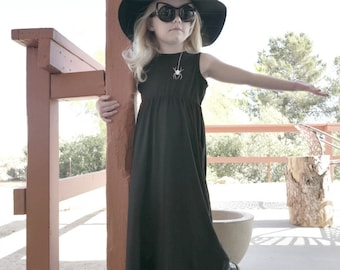 Spider Maxi Dress LIMITED EDITION Baby Toddler Punk Goth