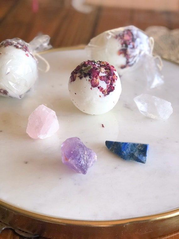 Gemstone Bath Bombs