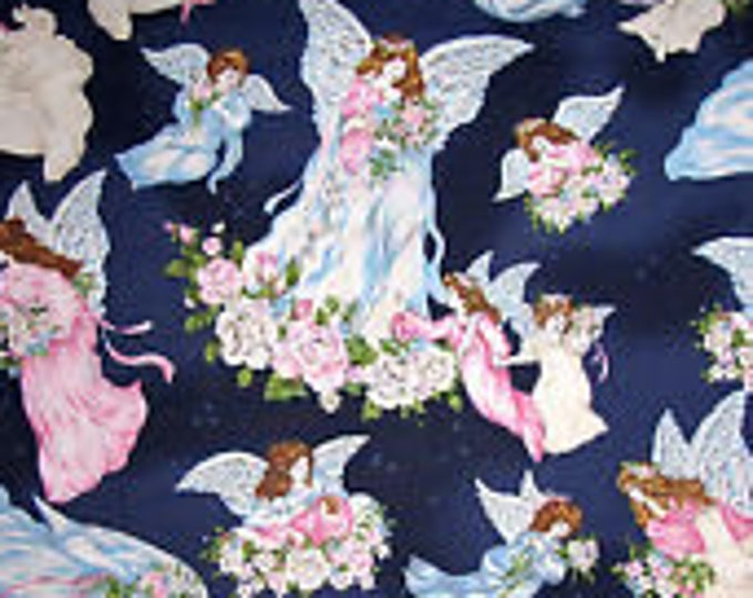 Faith Angels Cotton Fabric by the Yard