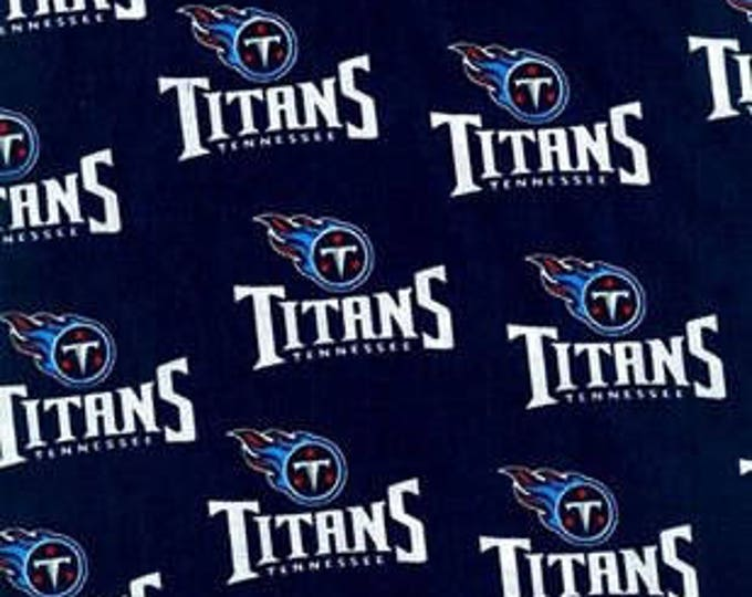 Tennessee Titans Cotton Fabric by the Yard
