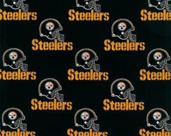 Pittsburgh Steelers Cotton Fabric by the Yard
