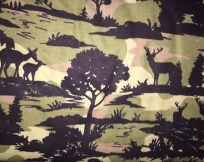 Elk Flannel Fabric by the Yard