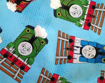 Thomas the Train Cotton Fabric by the Yard