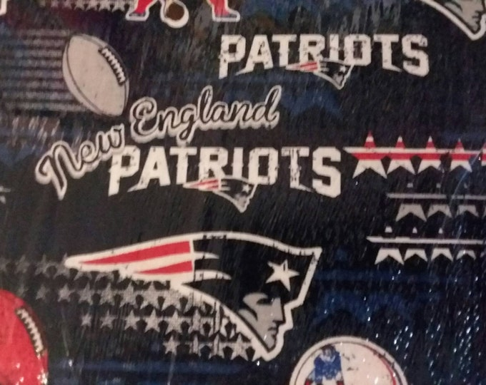 New England Patriots Cotton Fabric by the Yard