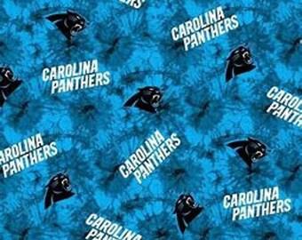 Carolina Panthers Fleece Fabric by the Yard