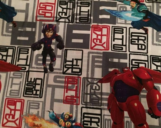Big Hero 6 Cotton Fabric by the Yard