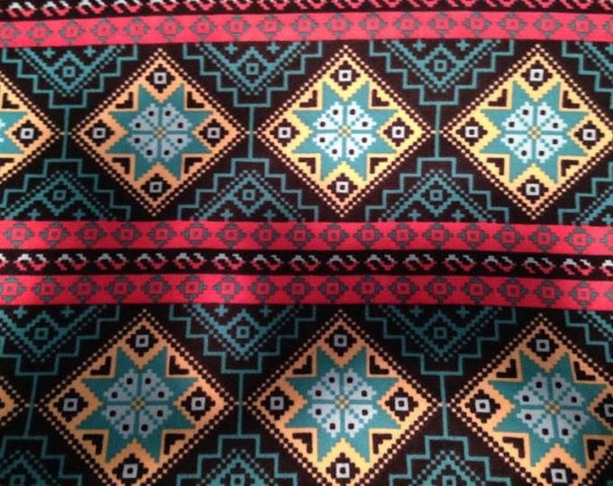Western Flannel Fabric by the Yard