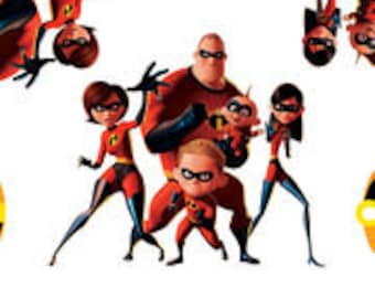 Incredibles Cotton Fabric by the Yard