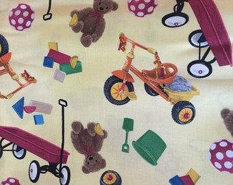 Toy Cotton Fabric by the Yard
