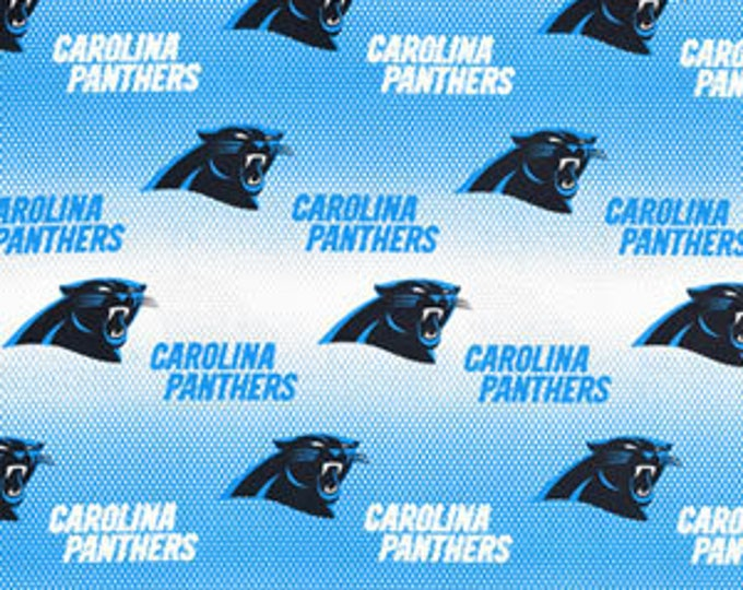 Carolina Panthers Cotton Fabric by the Yard